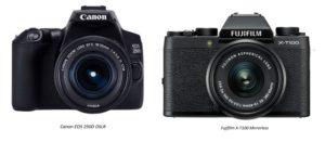 Entry level cameras