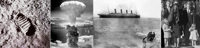 Historical photos collage